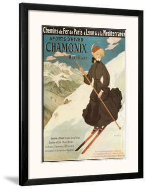 Sports d'Hiver Chamonix by Abel Faivre