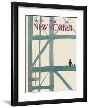 The New Yorker Cover - April 11, 1983 by Abel Quezada
