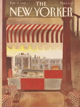 The New Yorker Cover - February 11, 1985 by Abel Quezada