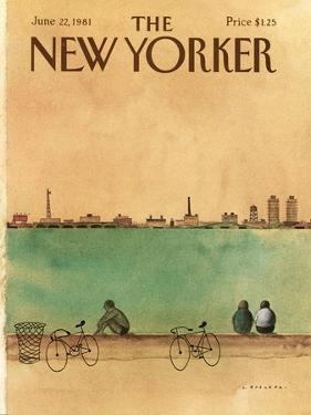 The New Yorker Cover - June 22, 1981 by Abel Quezada