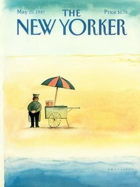 The New Yorker Cover - May 25, 1987 by Abel Quezada