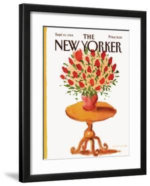 The New Yorker Cover - September 10, 1984 by Abel Quezada