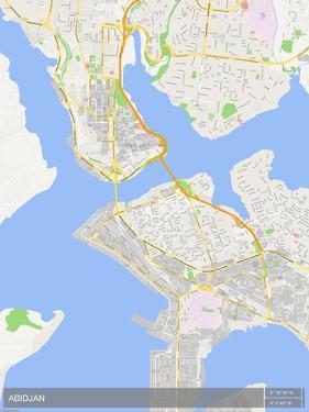 Abidjan, Côte d'Ivoire Map