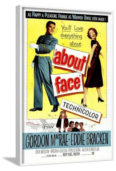 About Face--Framed Art Print