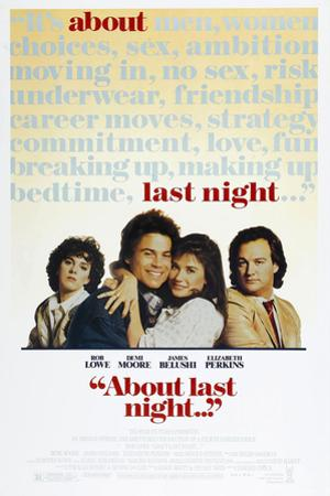 ABOUT LAST NIGHT.. . [1986], directed by EDWARD ZWICK.