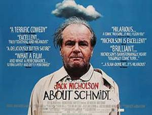 About Schmidt (Jack Nickplson) Movie Poster
