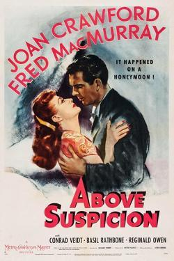 Above Suspicion, from Left, Joan Crawford, Fred Macmurray, 1943