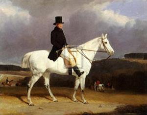 Hunting Scene in the Counties by Abraham Cooper
