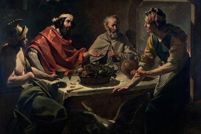 Philemon and Baucis Entertaining Jupiter and Mercury, C.1615-25