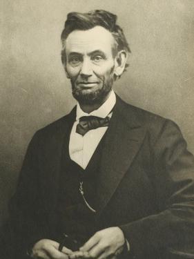 Abraham Lincoln by Alexander Gardner