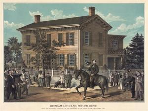 Abraham Lincoln's Return Home