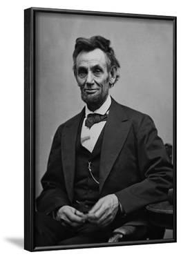 Abraham Lincoln Seated by Alexander Gardner Archival Photo Poster Print