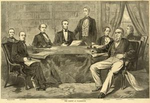 Abraham Lincoln with Cabinet at Washington