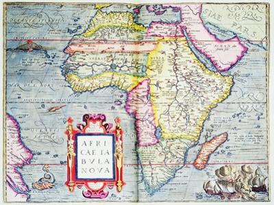 Africae Tabvla Nova, 1570