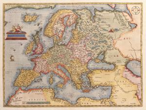 Europae, 1584-1612 by Abraham Ortelius