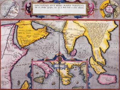 Map of Asia with a Superimposed Map of Europe, from 'Theatrum Orbis Terrarum', 1603