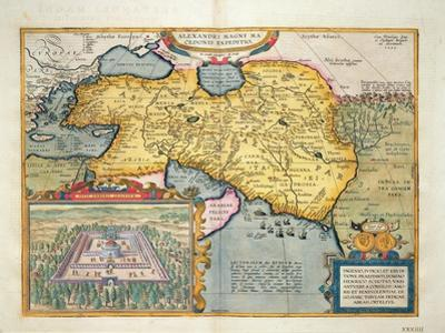 The Expedition of Alexander the Great, from the 'Theatrum Orbis Terrarum', 1603