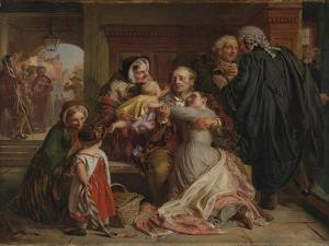 Not Guilty, 1859 by Abraham Solomon