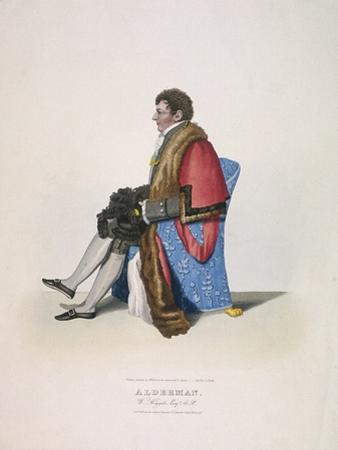 Alderman Sir William Heygate, Seated and in Civic Costume Showing Robe and Hat, 1825