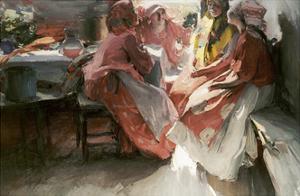 On a Visit by Abram Efimovich Arkhipov