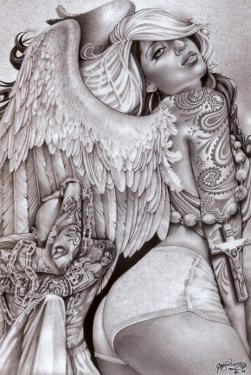 Angel Girl by Abril Andrade