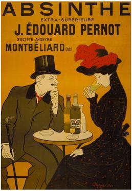 Absinthe Liquor Vintage Ad Poster Print