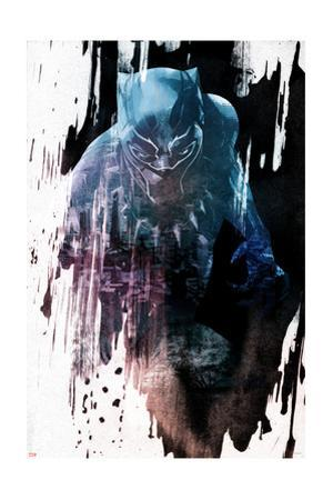 Abstract Black Panther