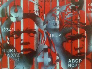 Boxer V Alphabet by Abstract Graffiti
