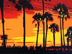 California Sunrise by Abstract Graffiti