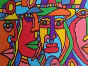 Chilean Faces by Abstract Graffiti
