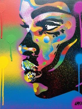 Kiss Series 2 Rainbow by Abstract Graffiti