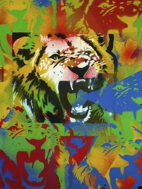 Lion by Abstract Graffiti