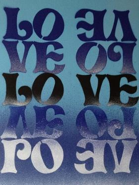 Love Love Love by Abstract Graffiti
