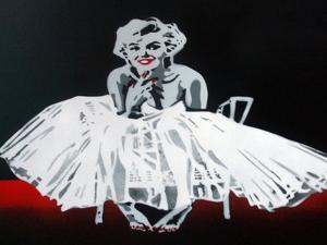 Marilyn by Abstract Graffiti