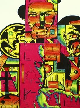 Pulp Fiction by Abstract Graffiti