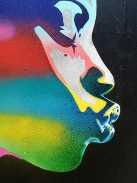 Rainbow Kiss by Abstract Graffiti