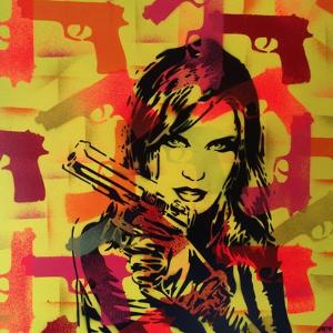 Revolver Yellows by Abstract Graffiti