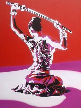 Samurai by Abstract Graffiti