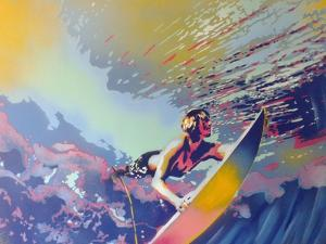 Surfing by Abstract Graffiti