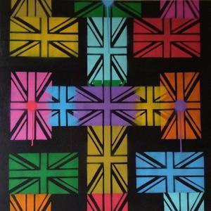 Union Jack Cross by Abstract Graffiti