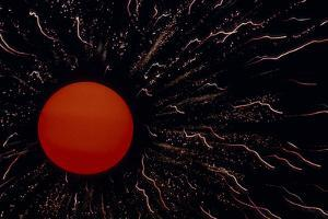 Abstract Image of the Sun