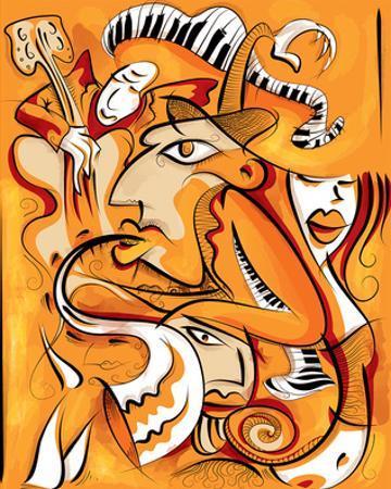 Abstract Jazz Quartett