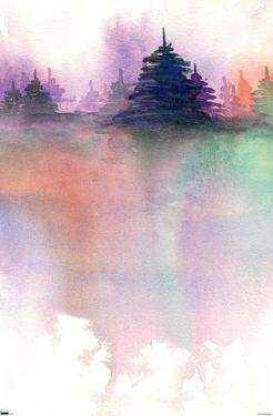Abstract - Pine Trees