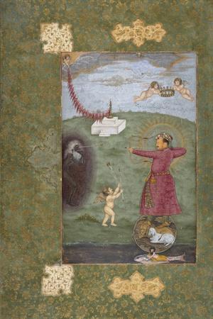 Emperor Jahangir Triumphing Over Poverty, c.1620-25