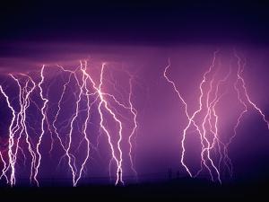 Abundance of Lightning Strikes near Tucson