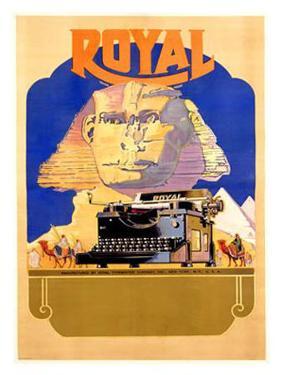 Royal Typewriter Company by AC Arp