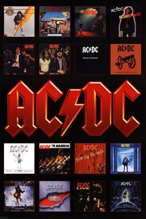 AC/DC - Album Covers