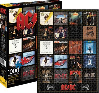 AC/DC - Discography 1,000 Piece Puzzle