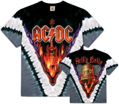 AC/DC- Hells Bells V-Dye (Front/Back)