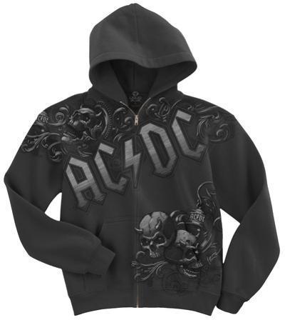 AC/DC-Night Prowler Zip Hoodie